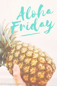 Happy Aloha Friday from the team at Island Style Clothing. We can make every day feel like casual Friday