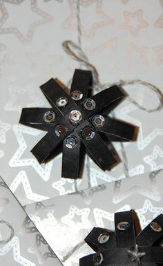 Rübenzieschen Porta 18 ♥ bolas de estrela lantejoulas