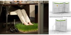 Great Office Carpet: Feel the Nature While Your Are Working  - I want this for my office! I love it!