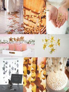Star Wedding Styling Ideas from The Wedding Community