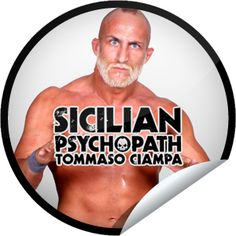 Steffie Doll's Ring of Honor Wrestling: TOMMASO CIAMPA Sticker | GetGlue