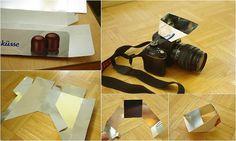 DIY flash bounce reflector
