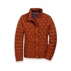 Tommy Hilfiger women's jacket. Stay warm without sacrificing style-our sleek puffer