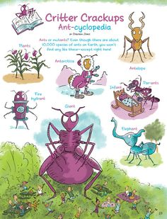 Ant Riddles / Critter Crackups from the June-July 2012 issue of Ranger Rick ant