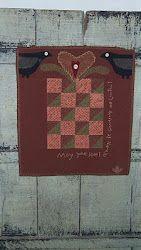 Prim quilt, design by Cheri Payne