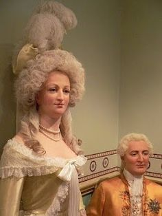 Madame Tussaud took a death mask of Marie Antoinette, after her execution.