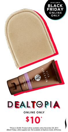 Black Friday Preview: Vita Liberata Rich Face + Mini Mitt Duo #Dealtopia #Sephora #blackfriday