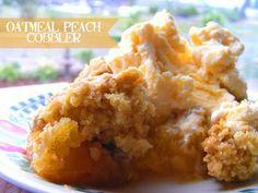 peaches & oatmeal...yummy!