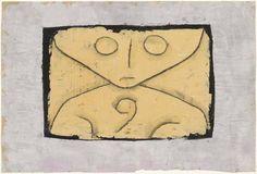 * Letter Ghost , 1937 - Paul Klee