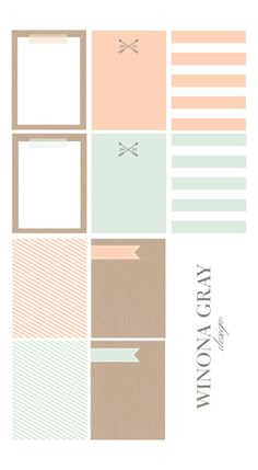 free printable 3 x 4 journaling cards  #scrapbook #projectlife