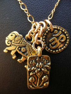 India in one necklace