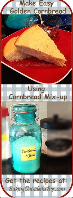 Baking Outside the Box |  Get the Cornbread Mix-up Recipe and whip up a batch of Easy Golden Cornbread today.