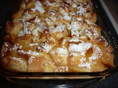 French Toast Souffle With Cream Cheese