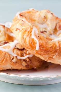 Almond Danish Swirls Recipe with Cream Cheese Filling - Made with Refrigerated Crescent Roll Dough
