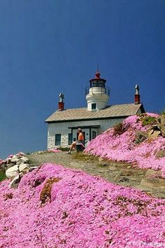 ㊣☄¬ Battery Point Lighthouse, Crescent City, California
