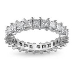 Click Image Above To Purchase: Miadora 18k White Gold 2 3/4ct Tdw Diamond Eternity Ring (g-h, Si1-si2)