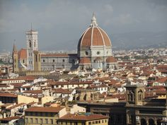 Beautiful Florence, Italy. Picture taken on a lovely September morning in 2013.