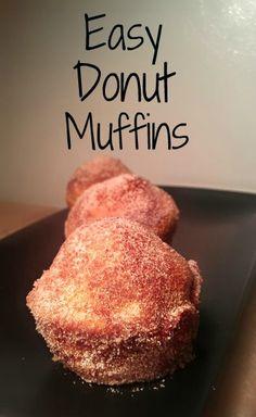Easy Donut Muffins Recipe