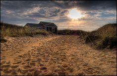 Cape Cod HDR Sunrise :: Wellfleet, MA