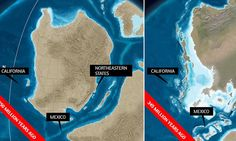 What North America looked like 550 million years ago