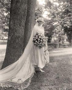 Wedding Dress of 1910's