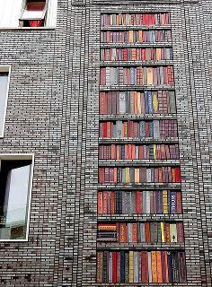 endless knowledge BOOKS!  #budgettravel #travel #streetart #art #street #mural www.budgettravel.com