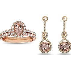Pretty in pink: Oval