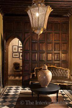 leather and gilt Louis XVI sofa