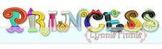 Embroidery Designs - Princess Word Art Collage 4x4 5x7 6x10 - Welcome to Lynnie Pinnie.com! Instant download and free applique machine embroidery designs in PES, HUS, JEF, DST, EXP, VIP, XXX AND ART formats.