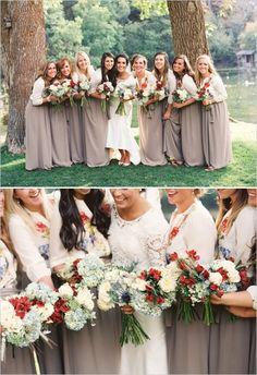 rustic bridesmaids dresses