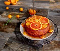 Orange Olive Oil Cake with Orange Compote