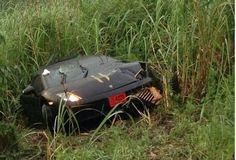 Watch this young driver miraculously survive this crash, splitting his Lamborghini Gallardo in half... #speechless #spon