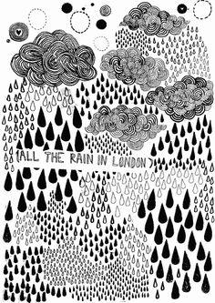 Rain by James Gulliver Hancock Illustrator