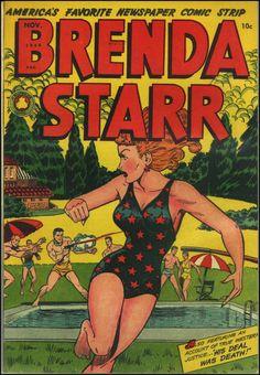 Brenda Starr vol. 2 #5, November 1948.