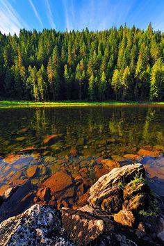 Selway River, Idaho. Wilderness Campsites.