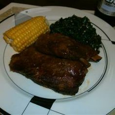 """GrannyLin's Barbeque Ribs Made Easy   """"My family loved these. They said they were better than when they're grilled. I agree."""" -angall7"""