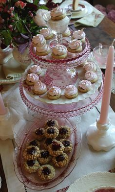 Julia M Usher, sweets table, tea party