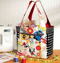 Cute project tote