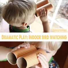 Love this indoor play activity for the kids when it's cold and gloomy outside.