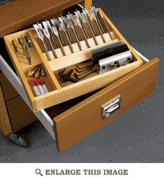 Workshop Drawer Organizer Woodworking Plan