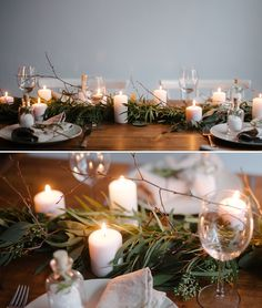 A simple winter table | DIY series on Best Day Ever