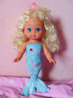 Mattel Lil Miss Mermaid Doll #childhood #the90s #mermaid #memories