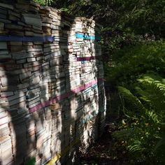 Quebec's Garden of Decaying Books