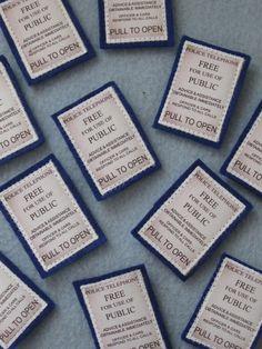 TARDIS Patch by StitchyButton on Etsy, $2.50