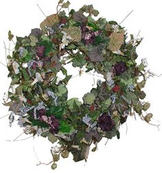 Morning Glory Wreath For Spring