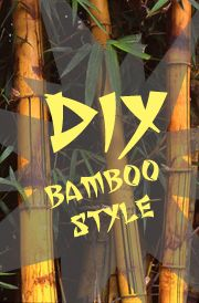 6 Fun DIY Projects Using Bamboo......so clearly you all know there is bamboo in our backyard lol