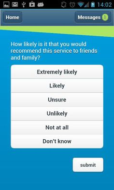Hospital uses a simple Feedback App to get feedback from patients and their families -- this idea could be used by any nonprofit  #nonprofits famili