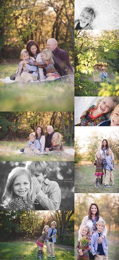 Family session: simple outdoors