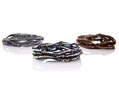 Nakamol Beaded Wrap Bracelet from Kelly Killoren Bensimon on OpenSky