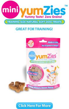 Nootie - Small training treats in fun flavors like hickory bacon and bbq chicken